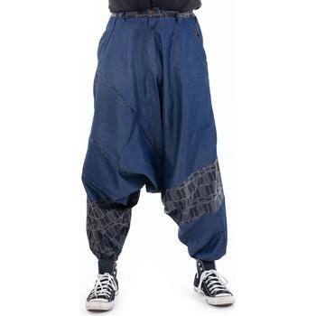 Vêtements Pantalons fluides / Sarouels Fantazia Sarouel homme graphic street Cidakah Bleu