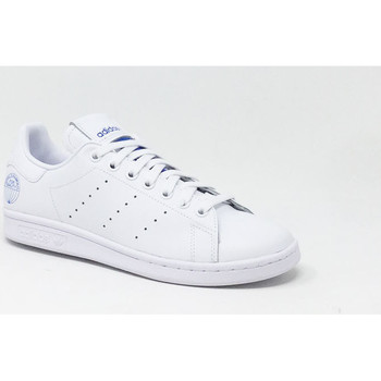 Chaussures Baskets mode adidas Originals STAN SMITH FT BLANC Bleu