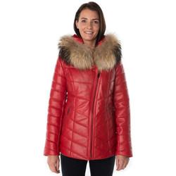 Vêtements Femme Vestes en cuir / synthétiques Cityzen PRESTIGE ROUGE Rouge