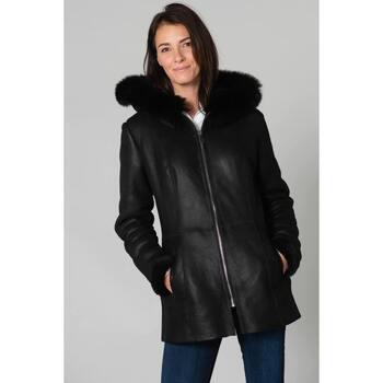 Vêtements Femme Vestes en cuir / synthétiques Cityzen SEVILLE BLACK Noir