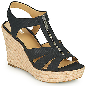 Chaussures Femme Sandales et Nu-pieds MICHAEL Michael Kors BERKLEY WEDGE Noir