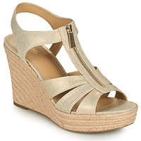 Chaussures Femme Sandales et Nu-pieds MICHAEL Michael Kors BERKLEY WEDGE Doré