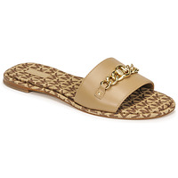 Chaussures Femme Mules MICHAEL Michael Kors RINA SLIDE Camel