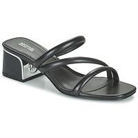 Chaussures Femme Mules MICHAEL Michael Kors LANA MULE Noir
