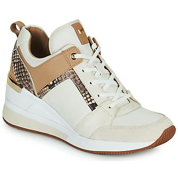 Chaussures Femme Baskets basses MICHAEL Michael Kors GEORGIE TRAINER Beige