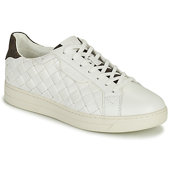 Chaussures Femme Baskets basses MICHAEL Michael Kors KEATING LACE UP Blanc / Marron