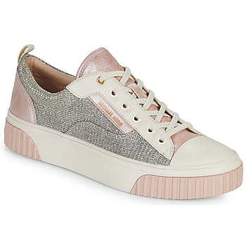 Chaussures Femme Baskets basses MICHAEL Michael Kors OSCAR LACE UP Beige / Rose / Rose Gold