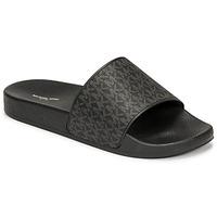 Chaussures Homme Claquettes MICHAEL Michael Kors JAKE SLIDE Noir