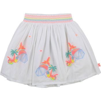 Vêtements Fille Jupes Billieblush / Billybandit U13275-10B Blanc