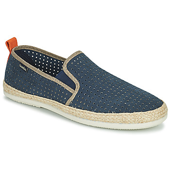 Chaussures Homme Espadrilles Bamba By Victoria ANDRE ELASTICOS ANTELIN Bleu