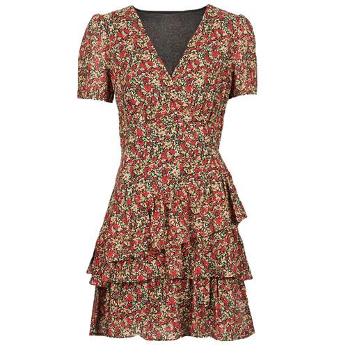 Vêtements Femme Robes courtes Moony Mood ORNAMA Rouge