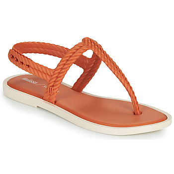 Chaussures Femme Tongs Melissa FLASH SANDAL & SALINAS Orange / Beige