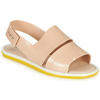 Chaussures Femme Sandales et Nu-pieds Melissa CARBON Beige / Jaune
