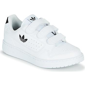 Chaussures Enfant Baskets basses adidas Originals NY 92  CF C Blanc / Noir