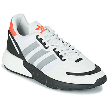 Chaussures Baskets basses adidas Originals ZX 1K BOOST Blanc / Gris