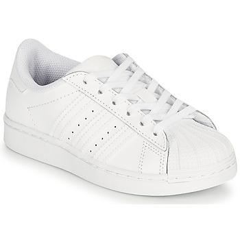 Chaussures Enfant Baskets basses adidas Originals SUPERSTAR C Blanc