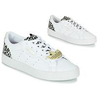 Chaussures Femme Baskets basses adidas Originals adidas SLEEK W Blanc / Léopard