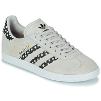 Chaussures Femme Baskets basses adidas Originals GAZELLE W Gris / Pois