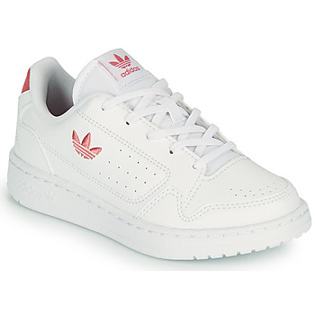 Chaussures Enfant Baskets basses adidas Originals NY 92 C Blanc / Rose