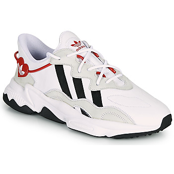 Chaussures Femme Baskets basses adidas Originals OZWEEGO Blanc / Rouge