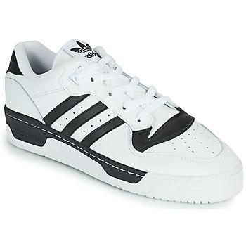 Chaussures Baskets basses adidas Originals RIVALRY LOW Blanc / Noir