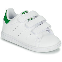 Chaussures Enfant Baskets basses adidas Originals STAN SMITH CF I ECO-RESPONSABLE Blanc / Vert