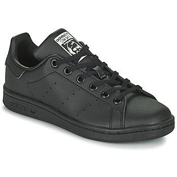 Chaussures Enfant Baskets basses adidas Originals STAN SMITH J ECO-RESPONSABLE Noir