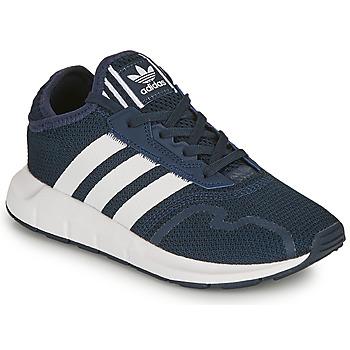 Chaussures Garçon Baskets basses adidas Originals SWIFT RUN X C Marine