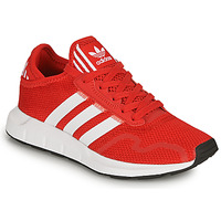 Chaussures Enfant Baskets basses adidas Originals SWIFT RUN X J Rouge
