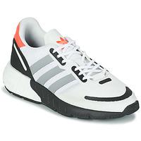 Chaussures Enfant Baskets basses adidas Originals ZX 1K BOOST J Blanc / Gris