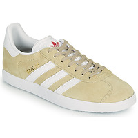Chaussures Femme Baskets basses adidas Originals GAZELLE W Beige