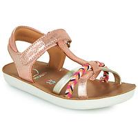 Chaussures Fille Sandales et Nu-pieds Shoo Pom GOA SALOME Rose
