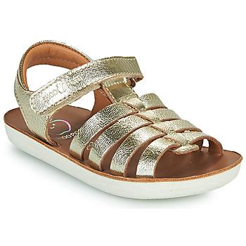 Chaussures Fille Sandales et Nu-pieds Shoo Pom GOA SPART Argenté