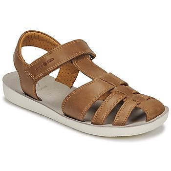Chaussures Garçon Sandales et Nu-pieds Shoo Pom GOA TONTON Marron