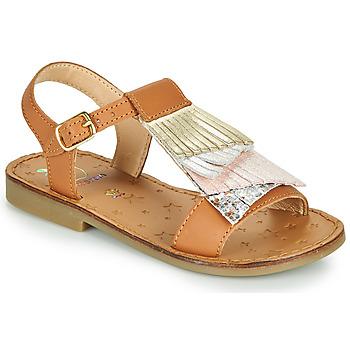 Chaussures Fille Sandales et Nu-pieds Shoo Pom HAPPY FALLS Marron