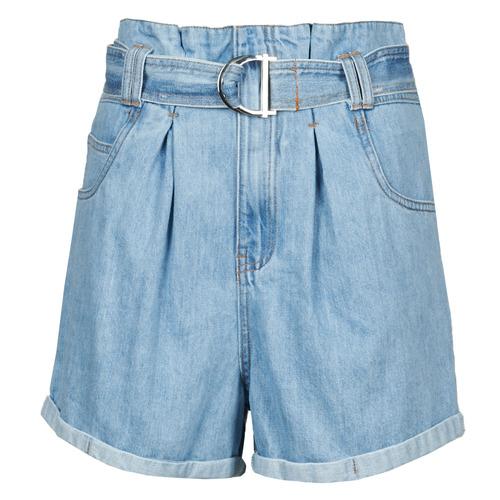 Vêtements Femme Shorts / Bermudas Betty London ODILON Bleu medium