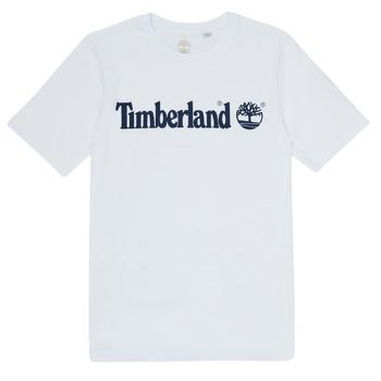 Vêtements Garçon T-shirts manches courtes Timberland FONTANA Blanc