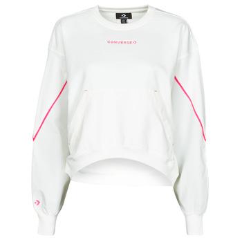 Vêtements Femme Sweats Converse BLOCKED ALTERRAIN CREW Blanc