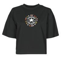 Vêtements Femme T-shirts manches courtes Converse CHUCK WOMENS WANDER TANK Noir
