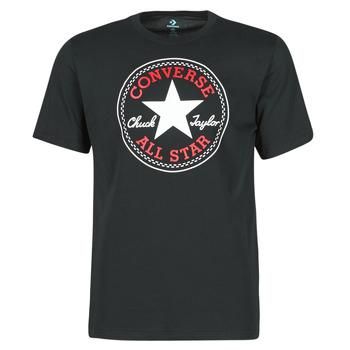 Vêtements Homme T-shirts manches courtes Converse NOVA CHUCK PATCH TEE Noir