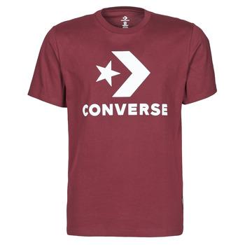 Vêtements Homme T-shirts manches courtes Converse STAR CHEVRON TEE Bordeaux