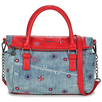 Sacs Femme Sacs porté main Desigual BOLS_JULY DENIM LOVERTY CARMIN