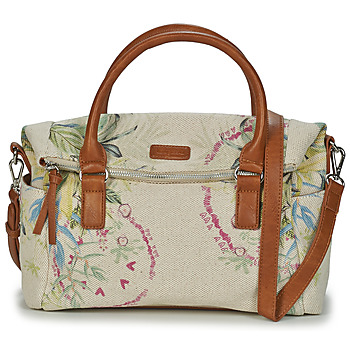 Sacs Femme Sacs porté main Desigual BOL_CALLIE_LOVERTY CRUDO BEIGE