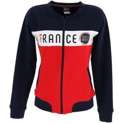 Vêtements Femme Sweats Allez Les Bleus Allez lzes bleus lady veste france Rouge
