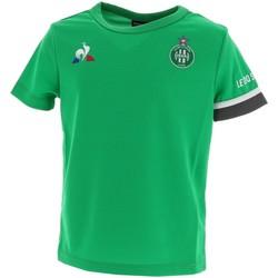 Vêtements Garçon T-shirts manches courtes Le Coq Sportif Asse maillot training   2020.21 jr Vert