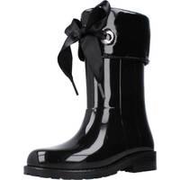 Chaussures Fille Bottes de pluie IGOR W10114 Noir