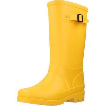 Chaussures Fille Bottes de pluie IGOR W10115 Jaune