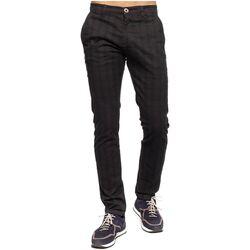 Vêtements Homme Chinos / Carrots Shilton Pantalon chino à carreaux Gris