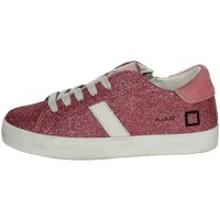 Chaussures Fille Baskets basses Date J311 Fuchsia