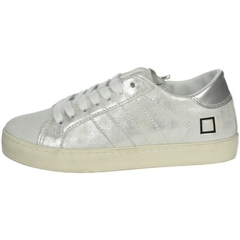 Chaussures Fille Baskets basses Date J301 Argent